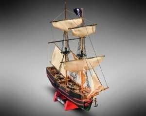 Captain Morgan - MM05 Mamoli - wooden ship model kit