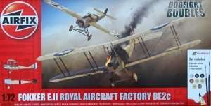 Fokker EII/BE2C Dogfight Double Airfix A50177 Model Set