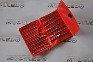 A set of 15 model drills 1.05-2.0 mm - ZHSS2