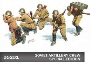 Model MiniArt 35231 Soviet Artillery crew Special Edit
