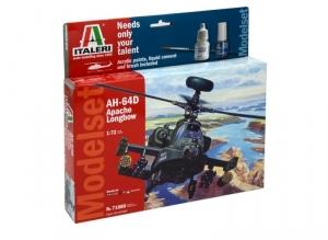 Modelset Italeri 71080 AH-64D Apache Longbow in 1-72