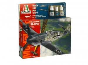 Modelset Italeri 71053 Messerschmitt Bf-109F in 1-72