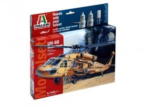 Modelset Italeri 71025 UH-60 Desert Hawk in 1-72