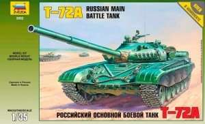 Zvezda 3552 T-72A Russian Main Battle Tank