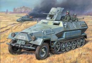 Sd.Kfz.251/10 with 3,7cm PAK model Zvezda in 1-35