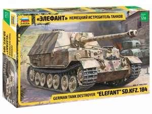 German Tank Destroyer Elefant Sd.Kfz.184 model in 1-35