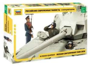 Russian contemporary tank crew - Zvezda 3685 scale 1-35