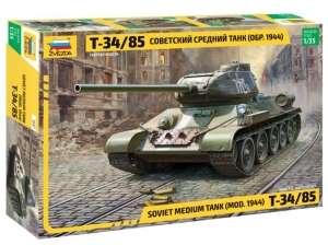 Soviet medium tank T-34/85 - model Zvezda 3687 scale 1-35