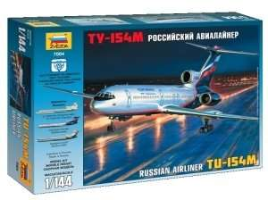 Tupolev Tu-154M Russian Airliner in scale 1-144
