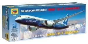 Boeing 787-8 Dreamliner in scale 1-144