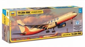 Cargo Airplane Tu-204-100C model Zvezda in 1-144