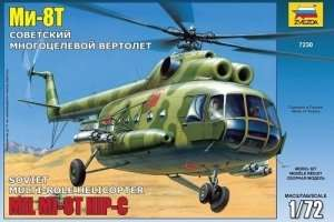 Helicopter Mi-8T HIP-C in scale 1-72 Zvezda 7230