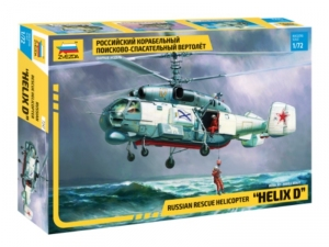 Russian rescue helicopter Helix D model Zvezda 7247