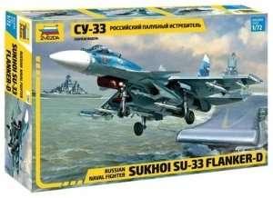 Zvezda 7297 Sukhoi Su-33 Flanker-D