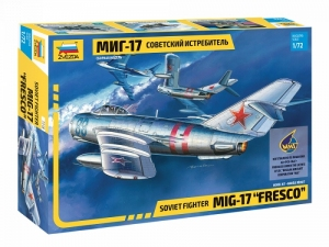 Soviet fighter MiG-17 Fresco model Zvezda 7318