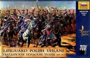 Polish Uhlans, 1809-1815 in scale 1-72