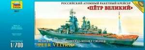 Russian Nucleaar-Powered Battlecruiser Petr Velikiy in scale 1-700