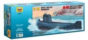K-19 Soviet Nuclear Submarine in scale 1-350 Zvezda 9025