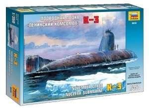 Zvezda 9035 K-3 Nuclear Submarine November Class