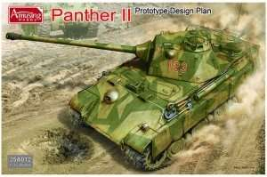Panther II Prototype Design Plan in scale 1-35 Amusing 35A012