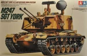 Tamiya 35126 U.S. M247 SGT York działo przeciwlotnicze