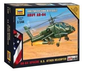 Zvezda 7408 U.S. Attack Helicopter AH-64 Apache