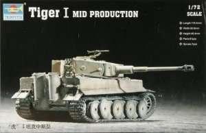 Trumpeter 07243 - Tiger I E in scale 1-72