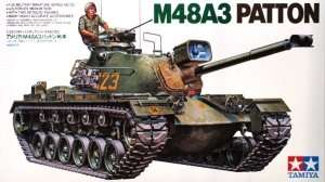 U.S M48A3 Patton Tank in scale 1-35