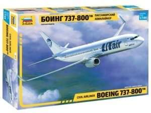 Zvezda 7019 Civil Airliner Boeing 737-800 in scale 1-144