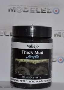 Vallejo 26812 Thick Mud - Black Thick Mud