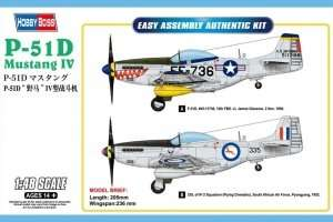 P-51D Mustang IV in scale 1-35