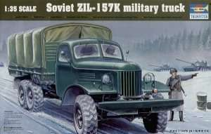 Military truck 6x6 ZIL-157K Trumpeter 01003