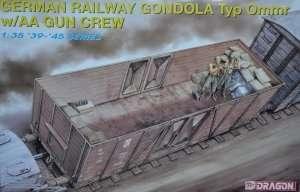 Dragon 6086 German Railway Gondola Typ Ommr