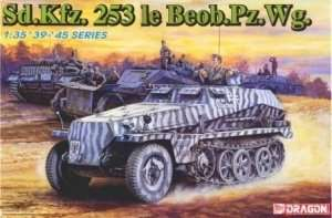 Dragon 6140 Sd.Kfz. 253 le Beobachtung Panzer Wagen in scale 1-35