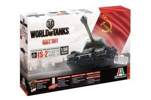 Tank IS-2 World of Tanks - WOT in scale 1-56 - Italeri 56506