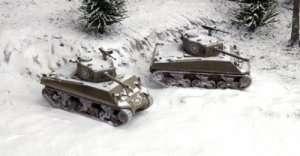 Italeri 7521 Tank Sherman M4A3 76mm - 2 modele