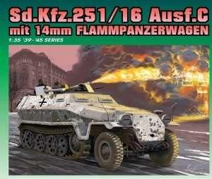 Sd.Kfz.251/16 Ausf.C mit 14mm Flammpanzerwagen in scale 1-35