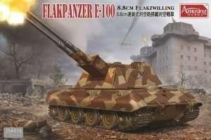 Flakpanzer E-100 88mm Flakzwilling in scale 1-35