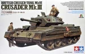 Tank Cruiser Mk.VI Crusader Mk.III in scale 1-35 Tamiya 37025