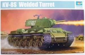 Model Soviet heavy tank KW-8S Trumpeter 01568