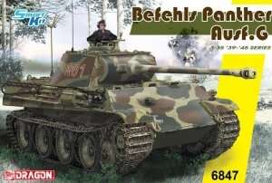 Tank model Befehls Panther ausf G - Dragon 6847