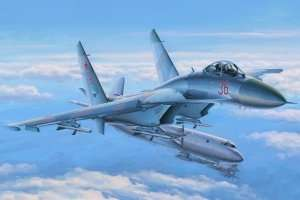 Su-27 Flanker Early in scale 1-48