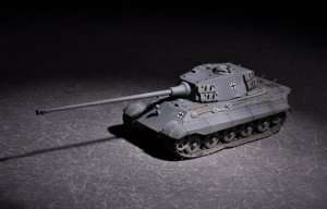 King Tiger Henchel turret with 105mm kWh L/65 in scale 1-72