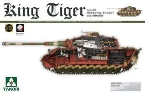 Takom 2045 King Tiger Henschel Turret w/Zimmerit