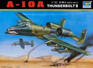 A-10A Thunderbolt II in scale 1-35 Trumpeter 02214
