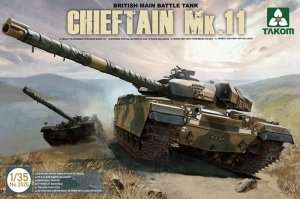 British Tank Chieftain Mk.11 in scale 1-35 Takom 2026