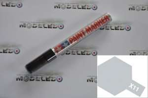 Paint Marker Enamel X-11 Chrome Silver Tamiya 89011