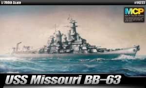 USS Missouri BB-63 - MCP in scale 1-700