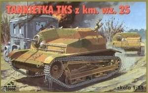 Poland Light Tank TKS z km wz.25 in scale 1-35