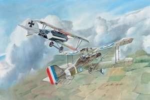 Italeri 1374 Dwupłatowiec S.E.5a and Albatros D.III